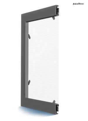 MRSZ Moskitonetz – Feste Fliegengitter Insektenschutz für bündige Aluminiumfenster